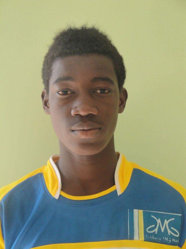 Bissouma yves jmg soccer academy head shot