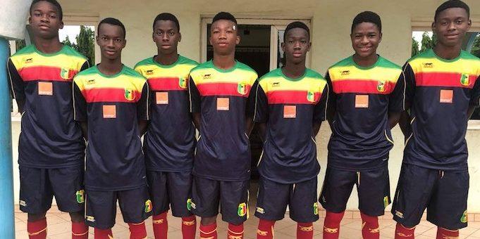 academie-jmg of mali 7 players on U17 national team