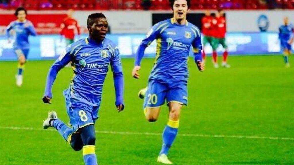 Moussa Doumbia jmg academy mali with Rostov FK