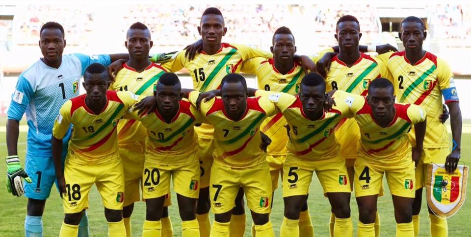 mali national team with jmg academy players
