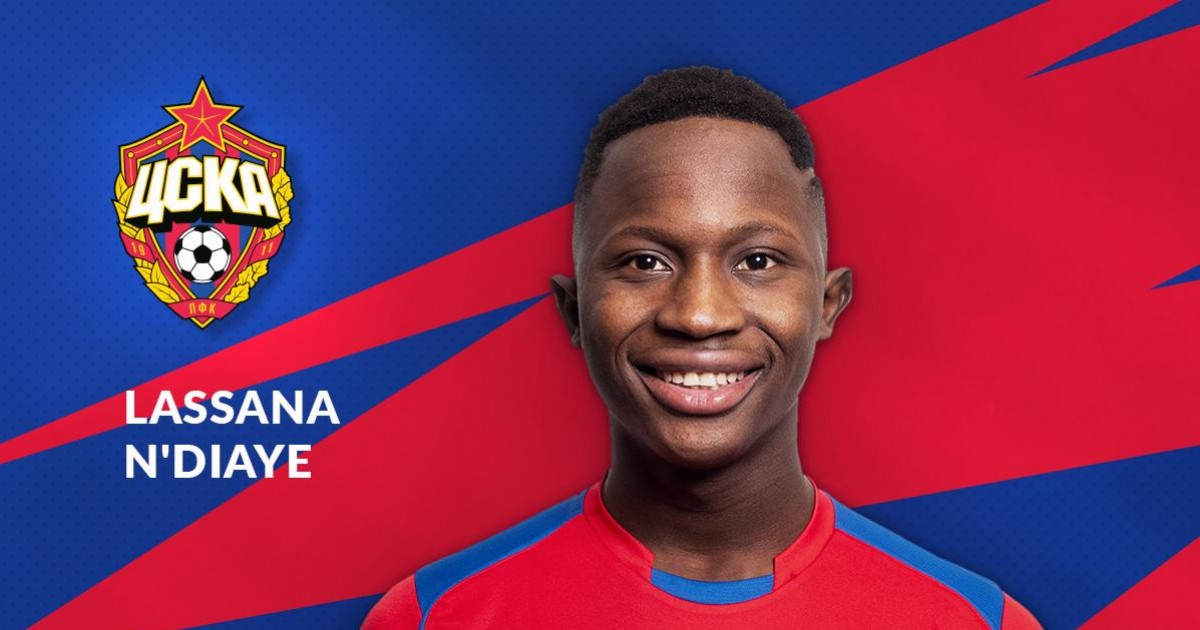 Lassana N Diaye from JMG academy in mali
