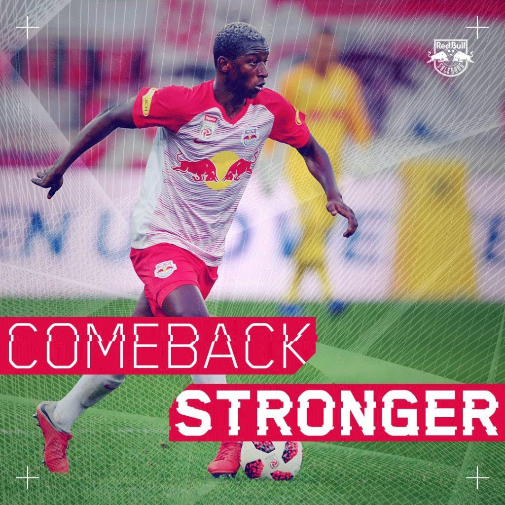 Amadou Haidara knee injury from jmg football management