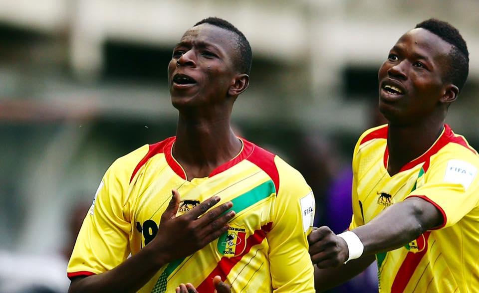 Amadou Haidara knee mali national team from jmg football management