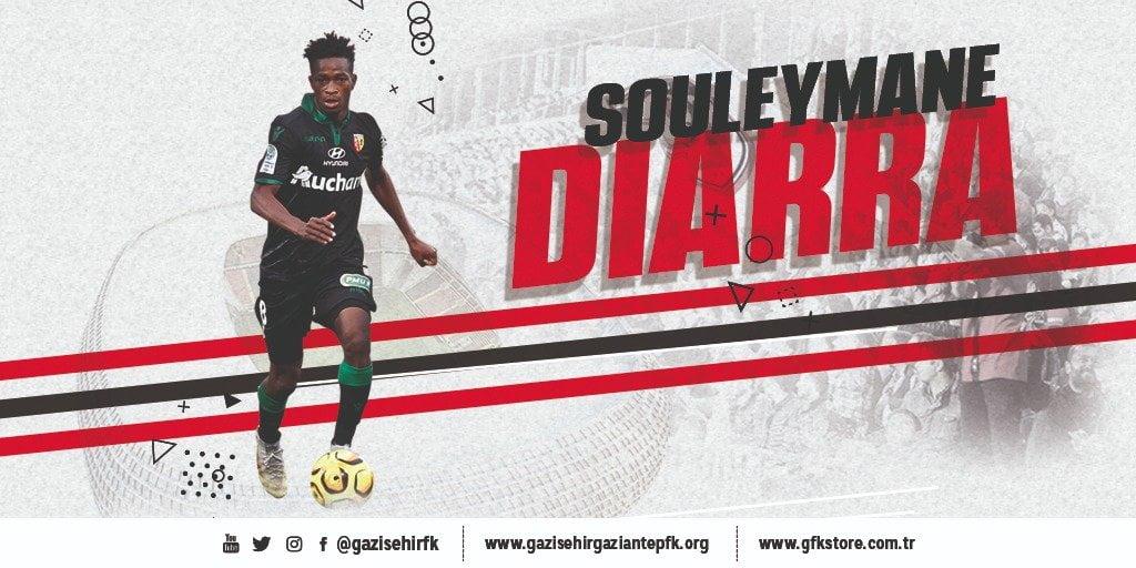 Diarra Souleymane JMG academician profesionnal player