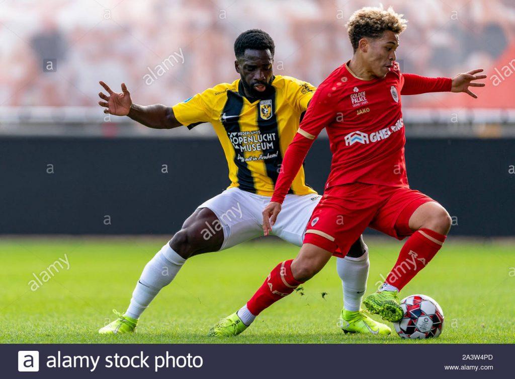 Manuel Benson Jmg soccer academy of belgium antwerp