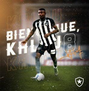 Kalou Signs with BotaFogo Brazil