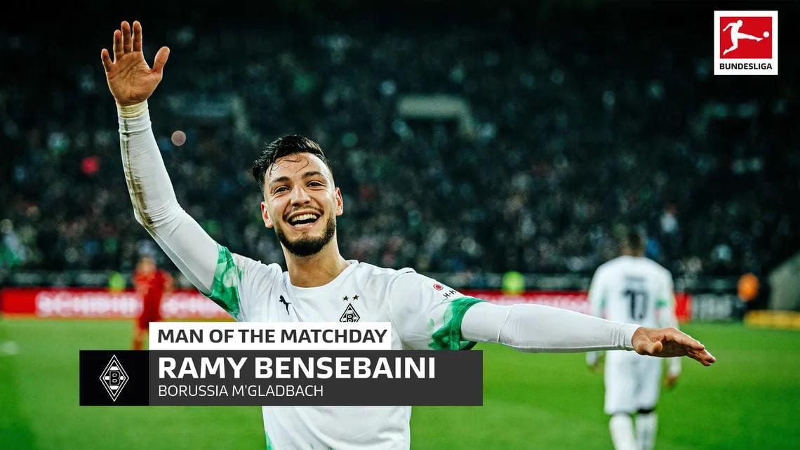 Ramy Bensebaini from JMG player of the year with Borussia