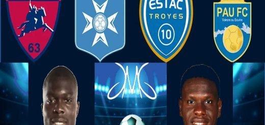 Jour 23 Ligue 2 France academieciens JMG