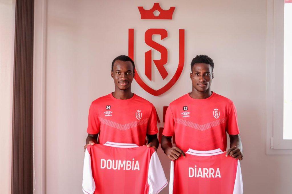 Doumbia et Diarra academie jmg mali stade de reims