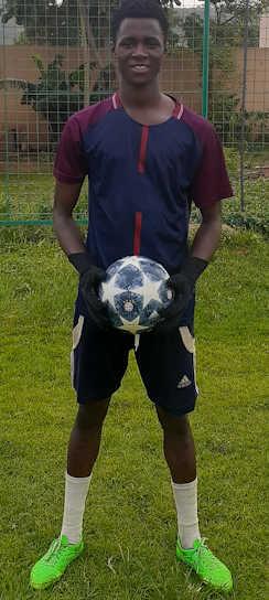 Thomas Osae goalkeeper