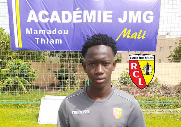mamadou thiam rc lens de jmg academie mali feature