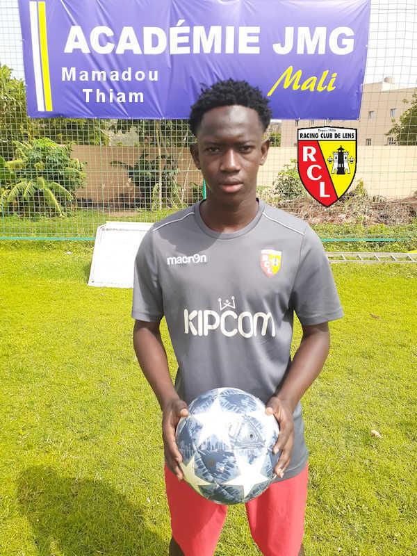 mamadou thiam rc lens de jmg academie mali poster