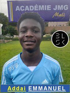Addai Emmanuel Jmg academician from Mali academy agent BlackSkill l