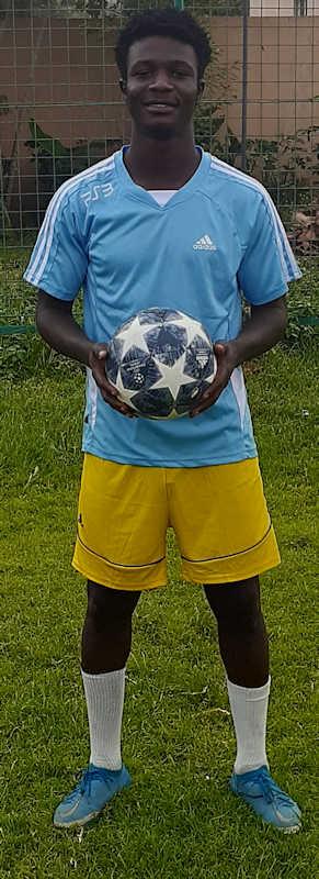 Addai Emmanuel Mali Jmg soccer Academy