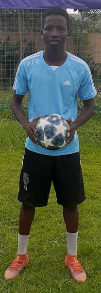 Brehima Traore Mali Jmg soccer Academy