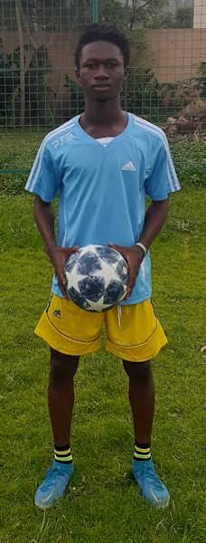 Samuel Sarpong JMG Academician from Mali full