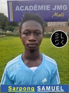 Sarpong Samuel Jmg academician from Mali academy agent BlackSkill l