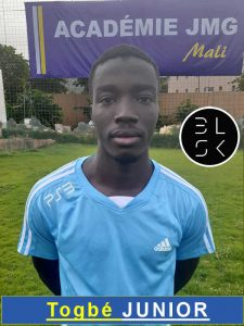 Togbé Junior Jmg academician from Mali academy agent BlackSkill l