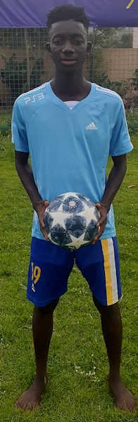 Yeo Moussa Jmg academician from Mali academy agent BlackSkill full