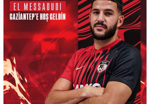 Ahmed El Messaoudijmg soccer academician at Gaziantepspor