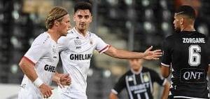 Charleroi vs Antwerp Zorgane jmg academie
