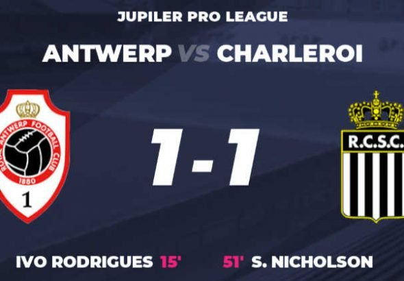 Match day 4 Charleroi 1 vs Antwerp 1