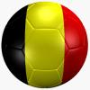 belgium soccer ball flag logo 250