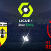 Logo Reims vs RC Lens Ligue 1