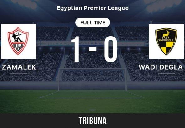 Zamalek 1 vs Wadi Degla 0