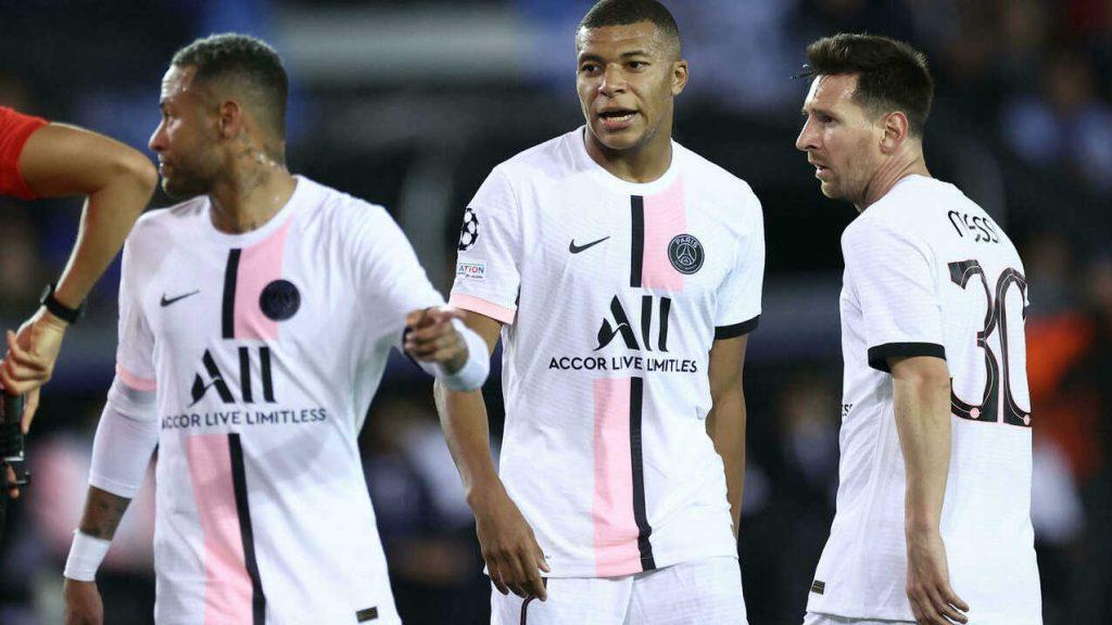 naymar-MBappe-Messi-defaite-rennes-2-psg-0